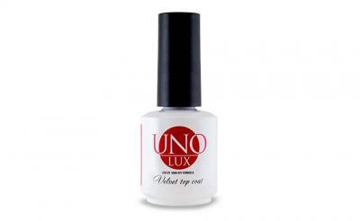 """Топ Uno Lux Velvet Top Coat"""" UNO LUX 15мл"""""""